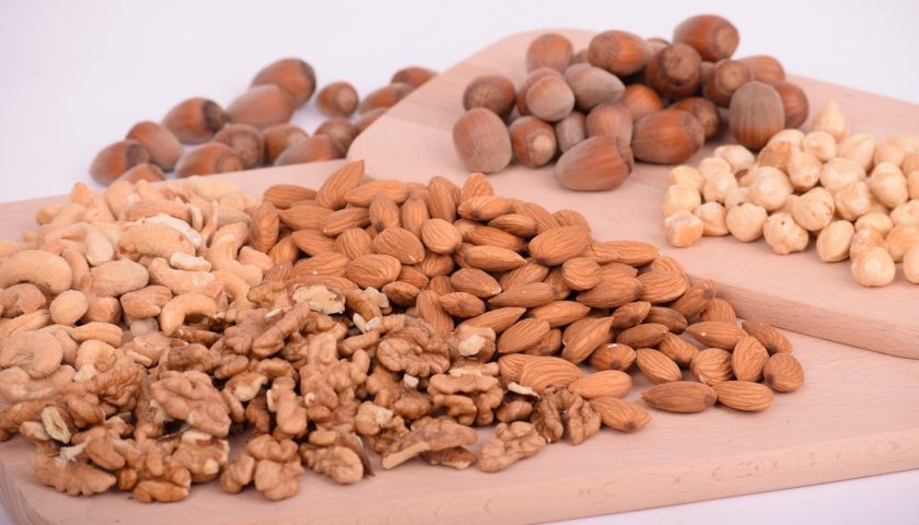high protein nuts