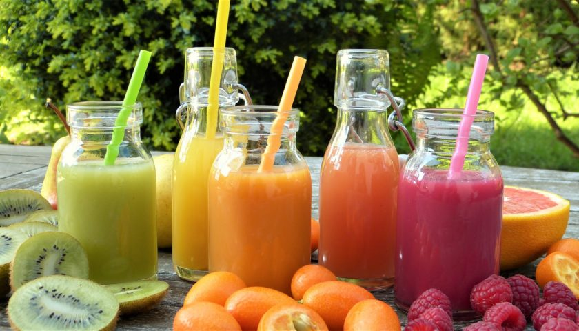 gluten free fruits juices